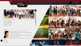 Dance World by Hidden Web Solutions