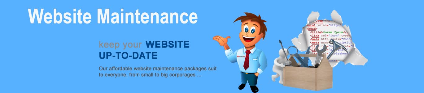 Web Maintenane, Website Maintenance Company